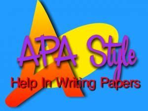 Examples of term papers in apa format - refugecoffeecocom